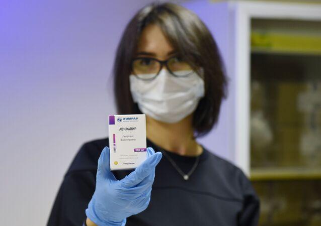 Avifavir, medicamento producido en Rusia para combatir el coronavirus