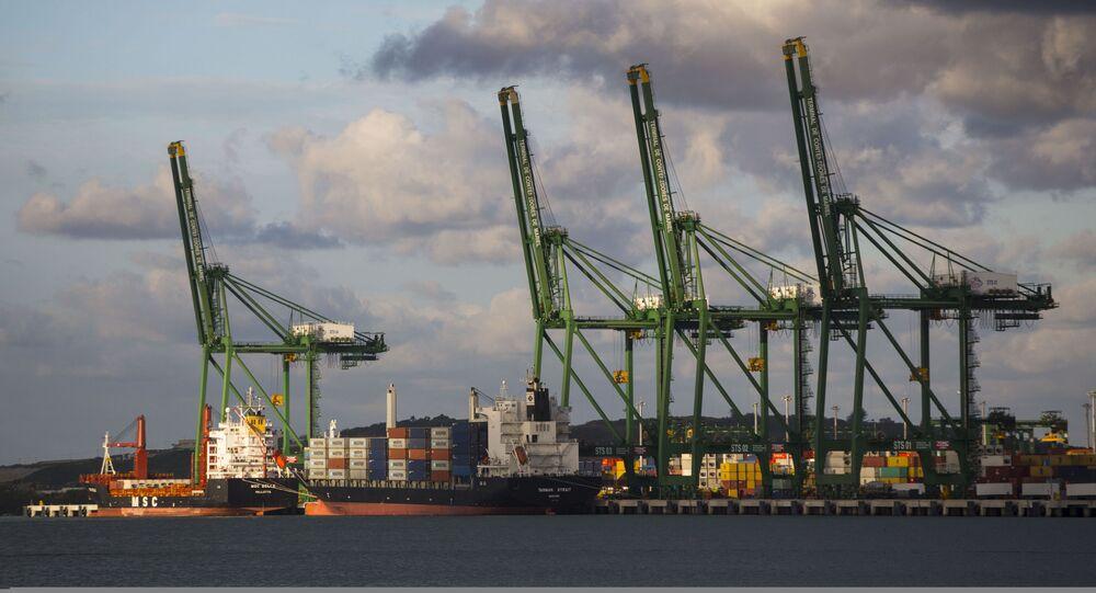 La Terminal de Contenedores del puerto de Mariel, Cuba