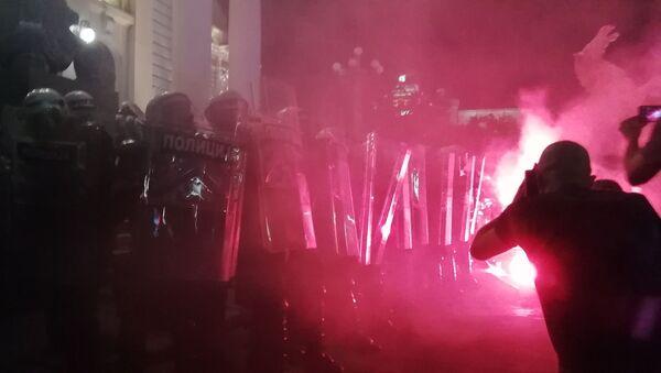 Disturbios en Belgrado - Sputnik Mundo