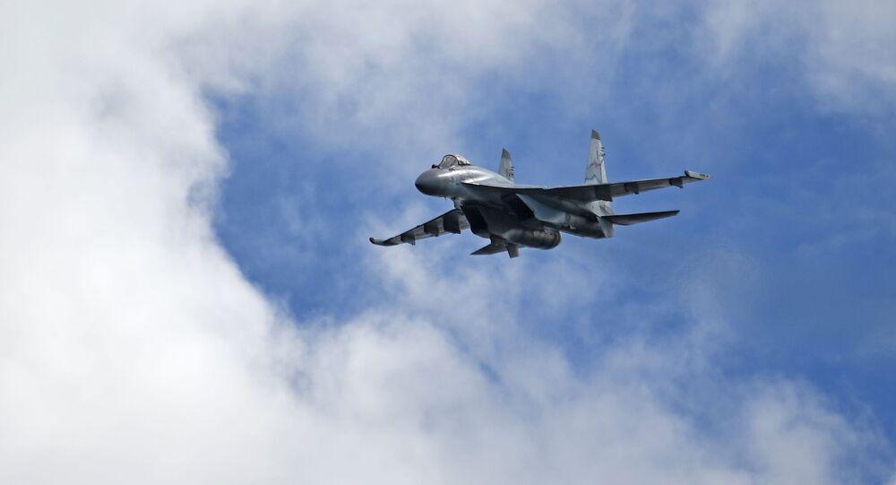 Un caza ruso Su-35 (archivo)