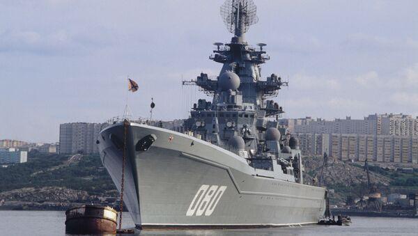 Crucero Almirante Najimov (archivo) - Sputnik Mundo