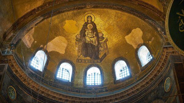 Mosaico cristiano en Santa Sofía - Sputnik Mundo