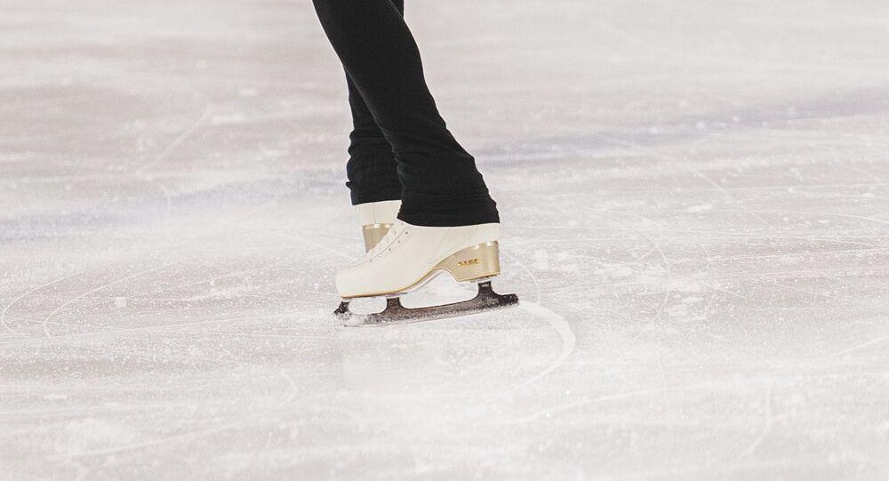 Una patinadora