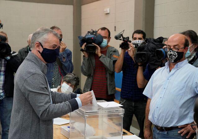 Íñigo Urkullu, candidato del PNV