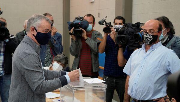 Íñigo Urkullu, candidato del PNV - Sputnik Mundo