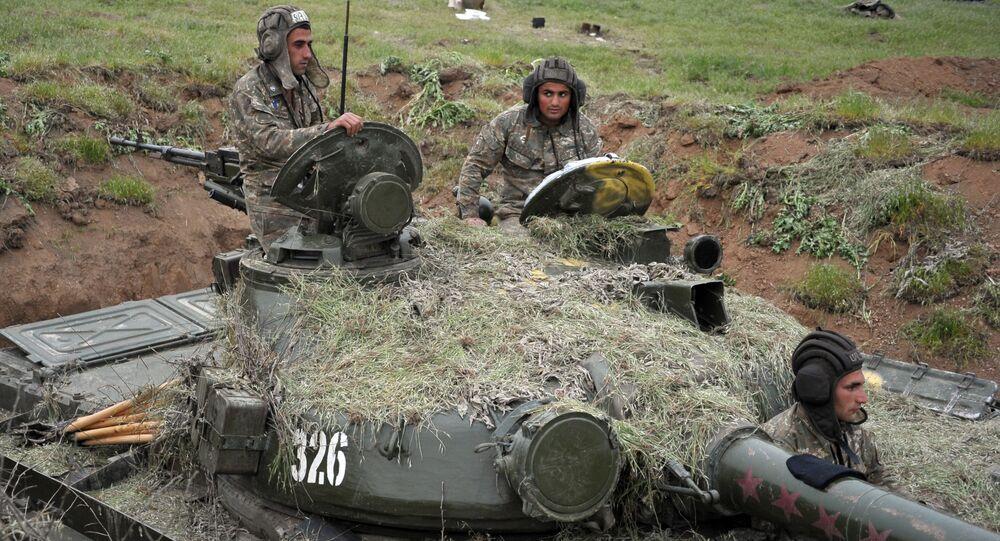 Situación en Karabaj (archivo)
