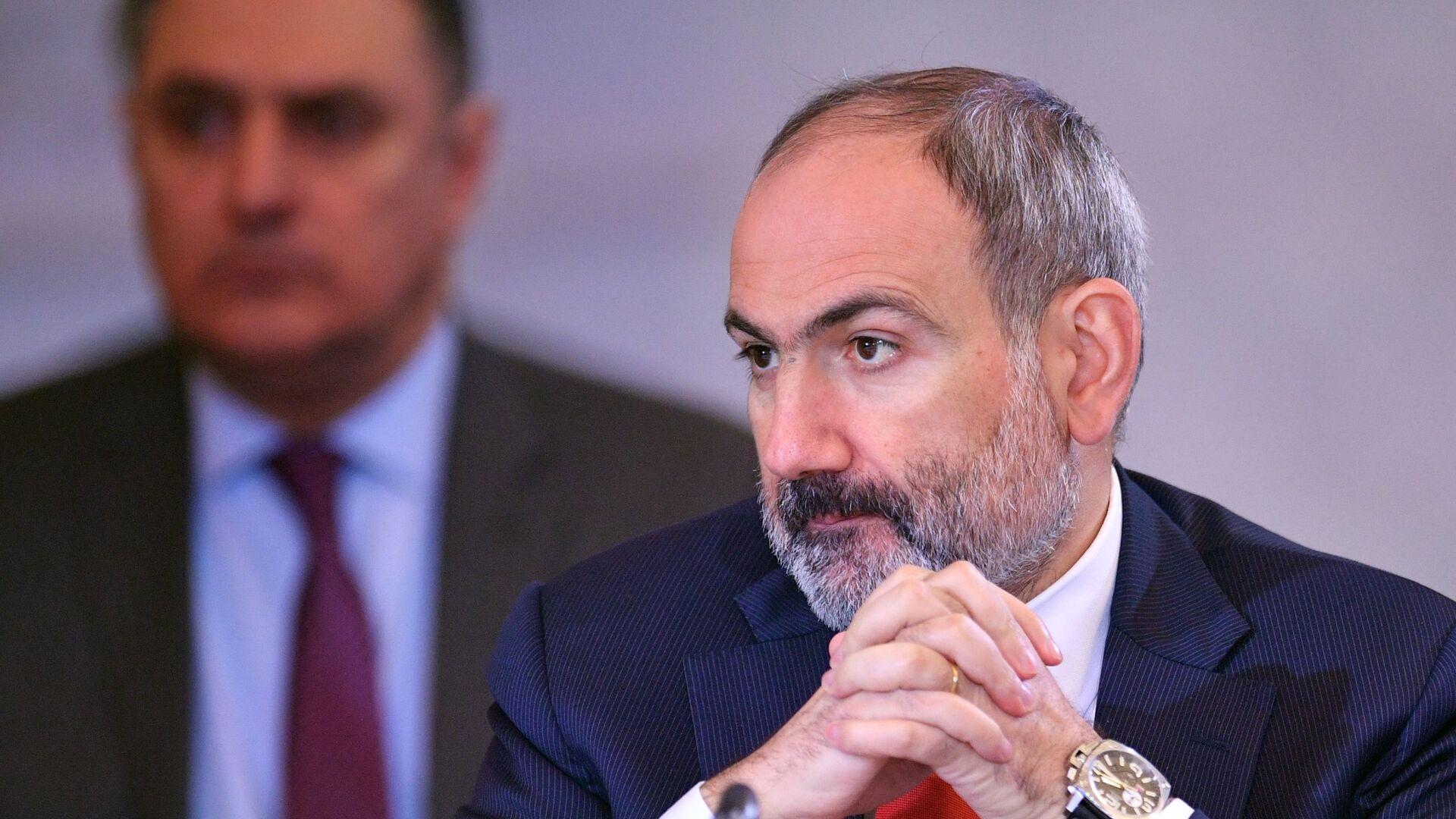 El primer ministro de Armenia, Nikol Pashinián - Sputnik Mundo, 1920, 14.04.2021
