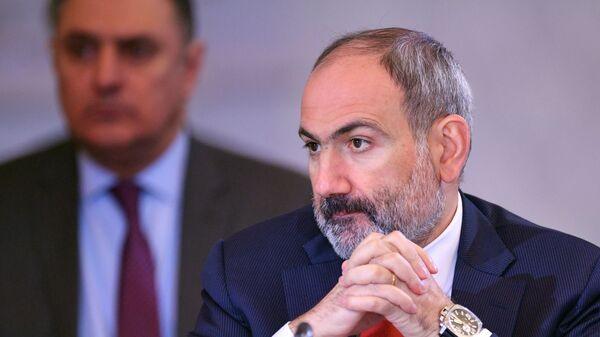 El primer ministro de Armenia, Nikol Pashinián - Sputnik Mundo