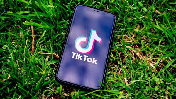 Logo de Tiktok - Sputnik Mundo