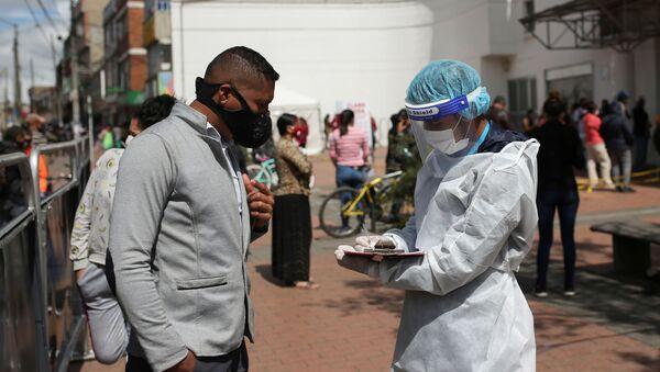Coronavirus en Colombia - Sputnik Mundo