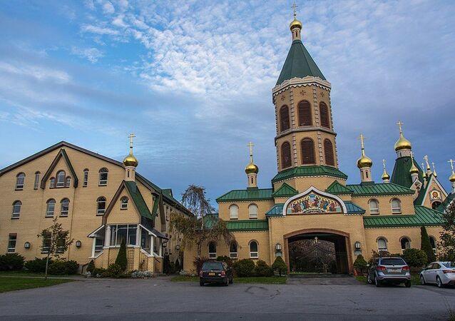 Monasterio ruso de la Santísima Trinidad en Jordanville, Nueva York