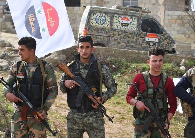 Militares libios (archivo)