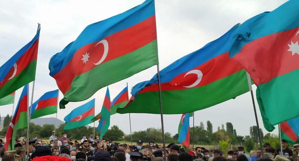 Funerales de los militares de Azerbaiyán
