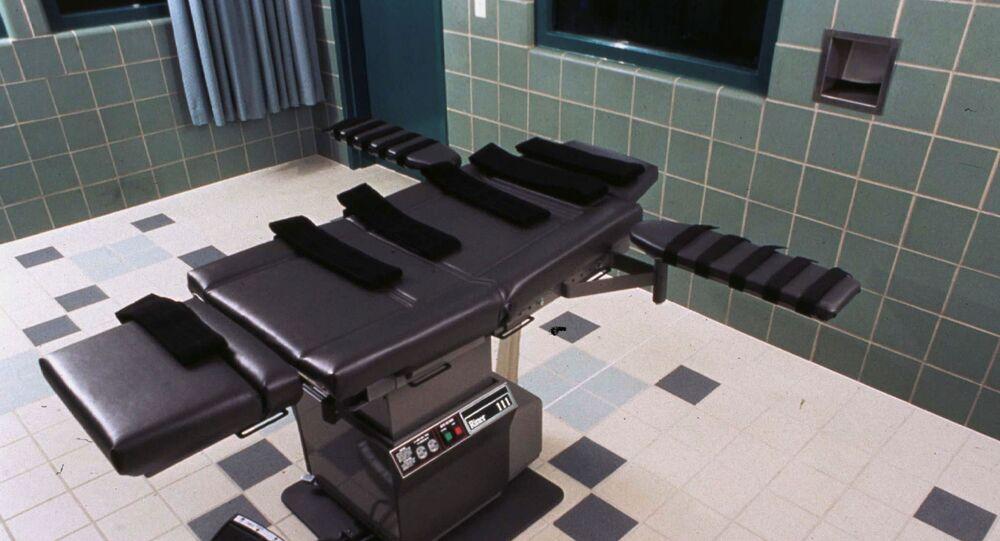 Una cámara de ejecución del Penitenciario del Terre Haute, EEUU (archivo)