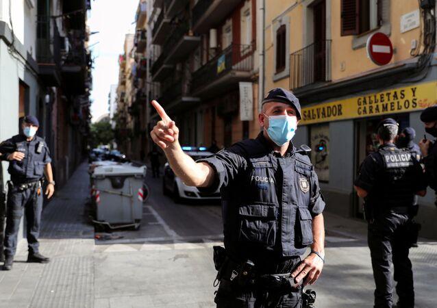 Agentes de Mossos d'Esquadra, la Policía catalana (archivo)