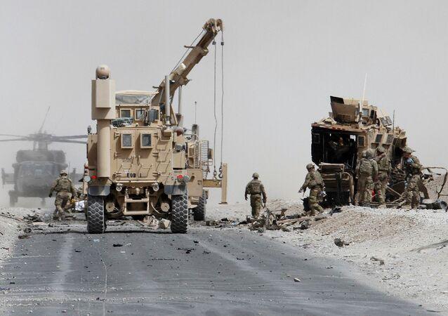 Tropas de EEUU en Afganistán (archivo)