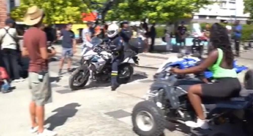 La Policía irrumpe en el rodaje de un clip de la cantante francesa Aya Nakamura