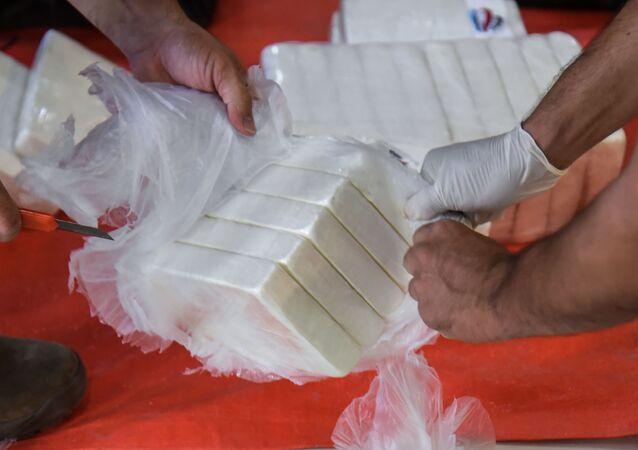 Paquetes de cocaína (imagen referencial)