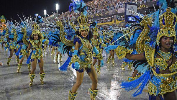 Carnaval en Río de Janeiro, Brasil - Sputnik Mundo