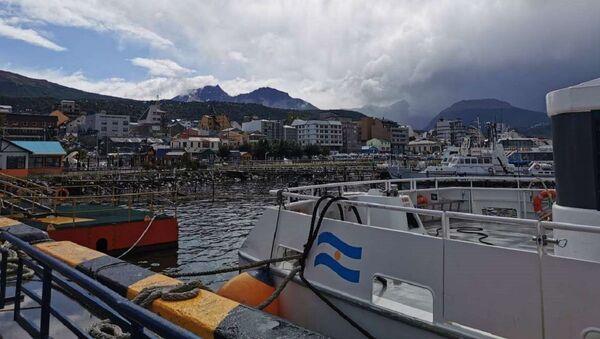 Puerto de Ushuaia, Argentina - Sputnik Mundo