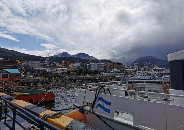 Puerto de Ushuaia, Argentina