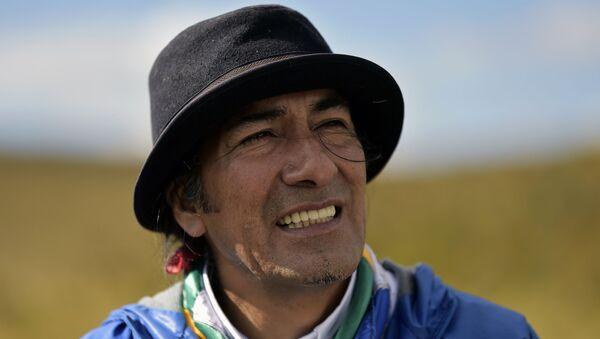 Yaku Pérez, prefecto de la provincia del Azuay, Ecuador - Sputnik Mundo