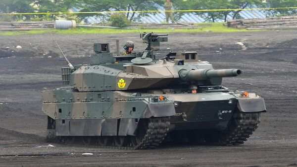 Carro de combate japonés Type 10 - Sputnik Mundo
