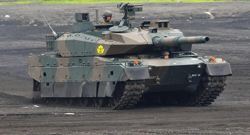 Carro de combate japonés Type 10