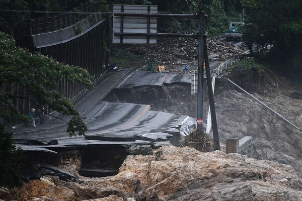 Nuevo capítulo del 2020: las intensas inundaciones azotan los países asiáticos - Sputnik Mundo