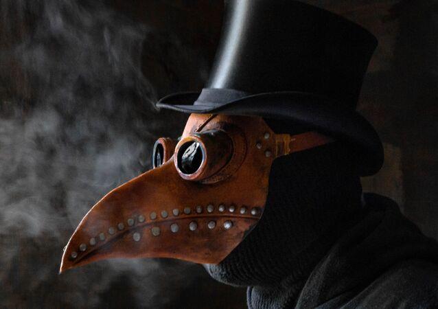 Un médico de la peste