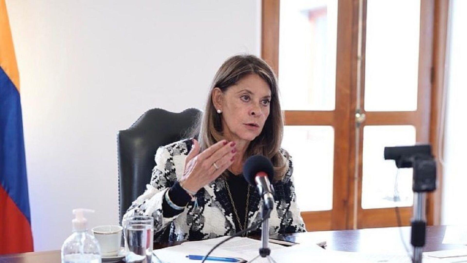 Marta Lucía Ramírez, vicepresidenta de Colombia - Sputnik Mundo, 1920, 24.08.2021