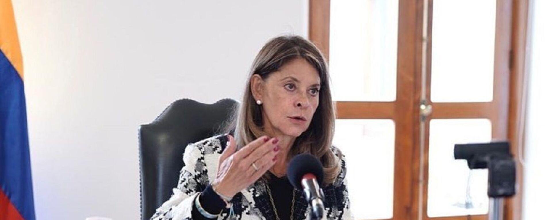 Marta Lucía Ramírez, vicepresidenta de Colombia - Sputnik Mundo, 1920, 07.06.2021
