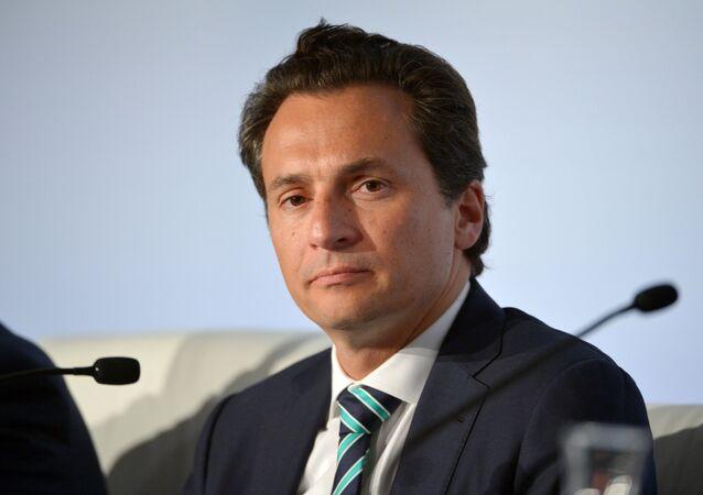 Emilio Lozoya, exdirectror de Pemex