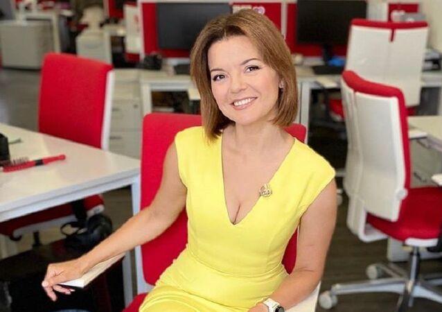 Marichka Padalko, presentadora ucraniana