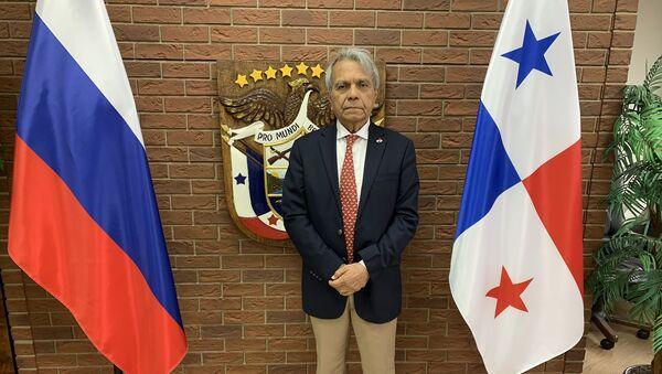 Efraín Villarreal Arenales, el embajador de Panamá en Moscú - Sputnik Mundo