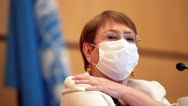 Michelle Bachelet, alta comisionada para los derechos humanos de la Organización de las Naciones Unidas (ONU) - Sputnik Mundo