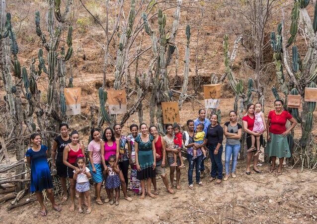 Mujeres del valle de Jequitinhonha, Minas Gerais