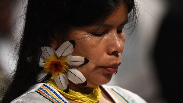 Un mujer Kichwa en Ecuador - Sputnik Mundo