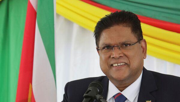 Chandrikapersad Chan Santokhi, presidente electo de Surinam - Sputnik Mundo