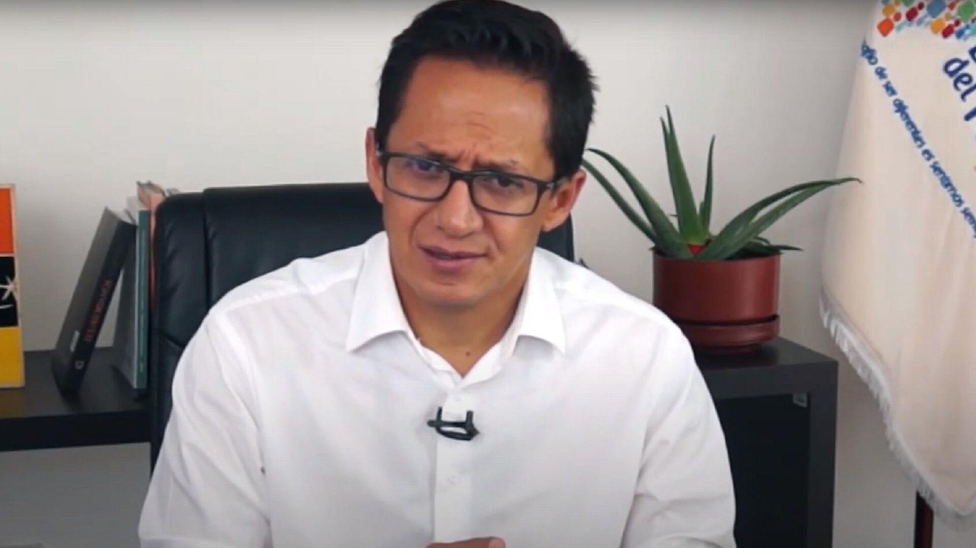 Freddy Carrión, defensor del Pueblo de Ecuador - Sputnik Mundo, 1920, 19.04.2021