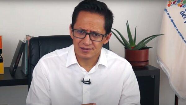 Freddy Carrión, defensor del Pueblo de Ecuador - Sputnik Mundo