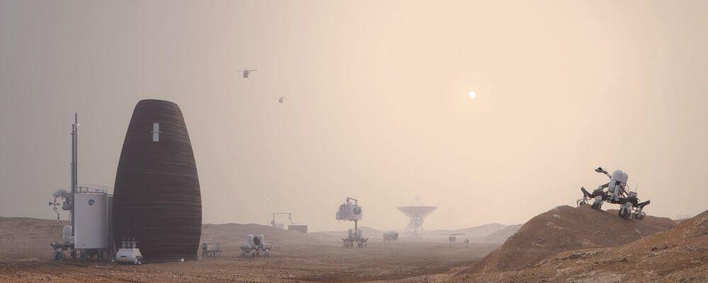¿Huevos marcianos? Así viviremos en Marte y en la Tierra del futuro
