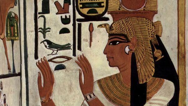 Jeroglíficos egipcios, ilustración - Sputnik Mundo