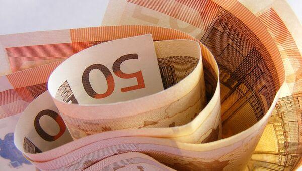 Billetes 50 euros - Sputnik Mundo
