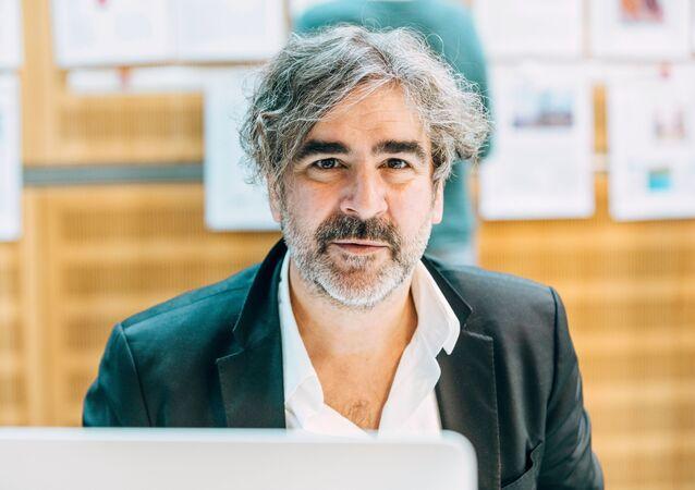 Deniz Yücel, reportero de origen turco del periódico alemán Die Welt