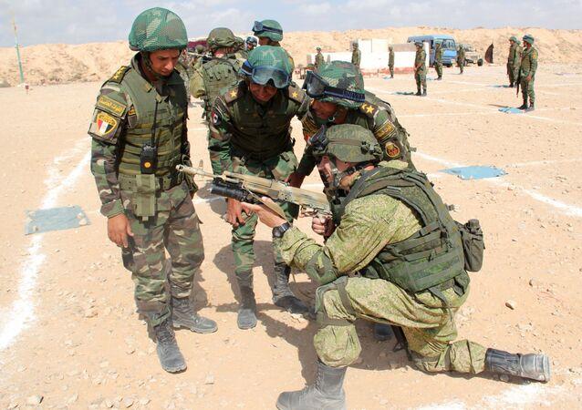 Militares del Ejército egipcio (archivo)