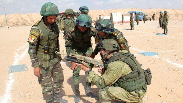 Militares del Ejército egipcio - Sputnik Mundo