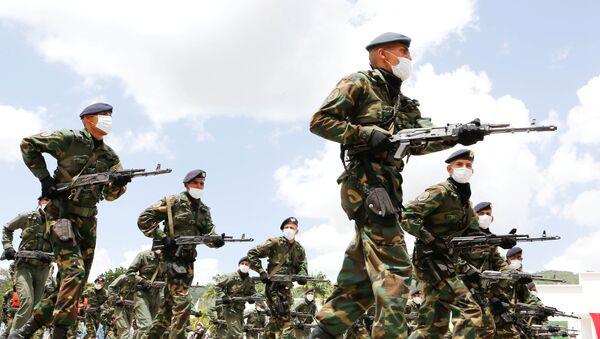Miembros de la Fuerza Armada Nacional venezolana - Sputnik Mundo