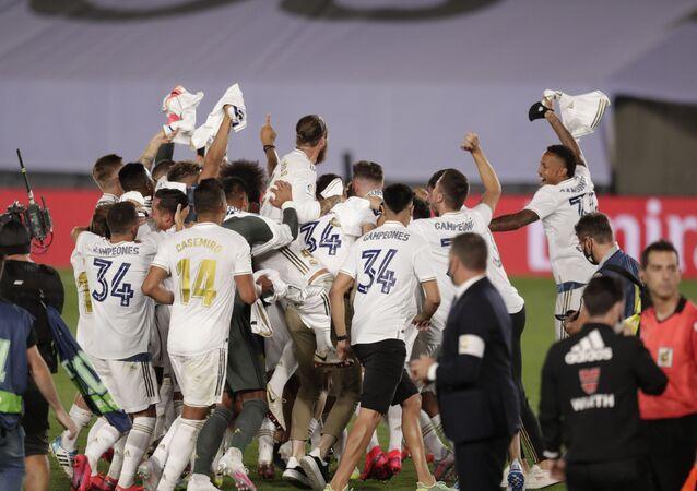 El Real Madrid se corona campeón de la Liga Española