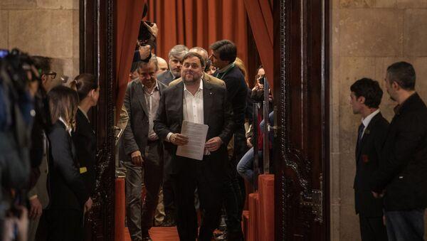 Oriol Junqueras, líderes independentista catalán - Sputnik Mundo